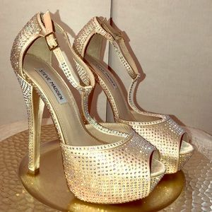 Women's Crystal Platforms